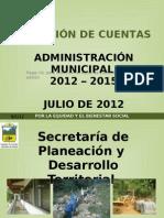 1. Rendicion de Cuentas Planeacion 2012-01