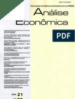Sicsú (2003) - Políficas Não-Monefárias de Controle do Inflação