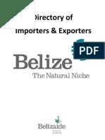 Beltraide Belize Importers Amp Exporters Directory