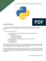 Curso Básico de Python por Raúl González (rafex)