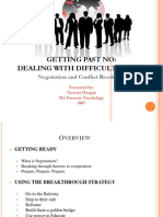 Negotiation and Conflict Resolution PPT
