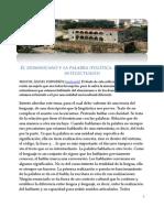 El Dominicano y La Palabra,SCRIBD