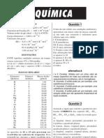 Prova ITA - Química 2000