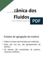 Mecânica dos Fluidos - Profº Cleidson Venturini