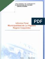 Informe Final Ie 35-10 Municipalidad de La Higuera Mayo 2010