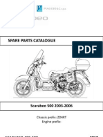 2003-2006 Scarabeo 500 Parts