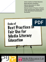 Code of Best Practices in Fair Use