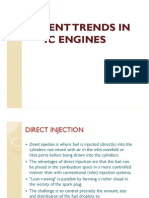 Recent Trends in IC Engine