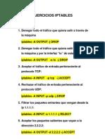 Ip Tables Comandos