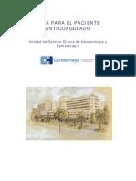 Paci Anticoagulado