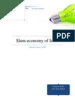 IA_Slum Economy of India