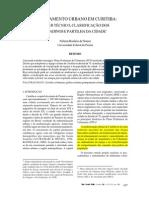 Discurso Planejamento Urbano Curitiba