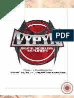 Peavey Vypyr Guitar Series Manual