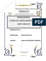 Monografia Cuencas de San Ignacio