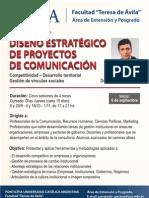 Diseño Estratégico de Proyectos de Comunicación