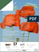 August 2012 Events & Activities Calendar