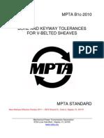 Bore and Keyway Tolerances