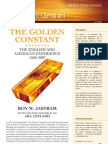 Golden Constant Summary