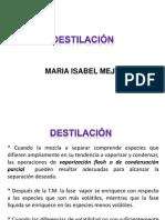 destilacion y método ponchon