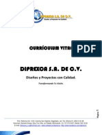 Currículum Vitae DIPREXCA ACTUALIZADO