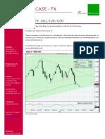 2011-07-12 Jyske Update Sell EURUSD on Today's Bounce