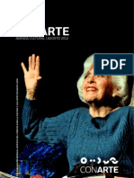 Agenda cultural de Conarte | Agosto 2012