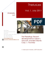 Newsletter TheIusLex-Valenzuela-Alvarado, LLC Vol.1 (July 2011)