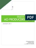 Erath County Ag Producers News - August 2012