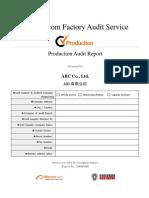 Production Assessment BV