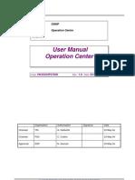 OSP-103.29 Communications Center - User Manual