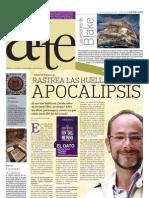Ignacio Padilla rastrea las huellas del apocalipsis