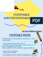 Countable and Uncountable Nouns -Personal Care Products- Basic III
