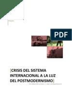 Crisis y Postmodernismo