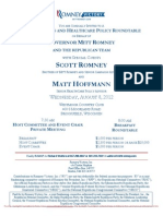 Small Business and Healthcare Policy Roundtable