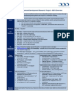 295457 - Project Summary MCS Version