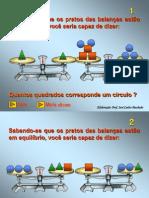 EQUAÇÕES DO 1° GRAU ATRAVES DA BALANÇA