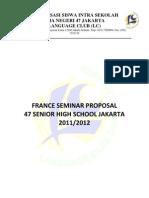 France Seminar Proposal