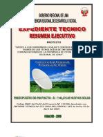 Resumen Ejecutivo Expediente Tecnico GRL 2010