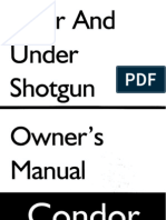 Stoeger Over & Under Shotgun Owners Manual