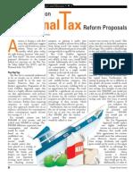 A Primer on National Tax Reform Proposals
