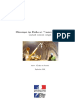 Mécanique Des Roches Et Travaux Sou Terrains