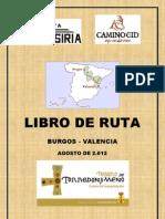 Camino Del Cid (El Libro) PDF Club Ciclista Tosiria