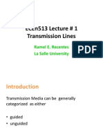 Transmission Lines Lecture 01