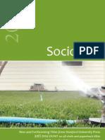 Stanford Sociology Catalog 2012