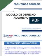 Modulo de Derecho Aduanero USAID - PROMEPRU