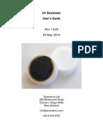 UV Dosimeter Manual_v08