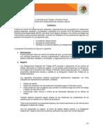 Convocatoria DEFR 2012