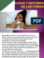 Clase Dracausas y Sintomas de Las Fobias