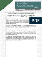 Boletín 28 RC Padrón Electoral Referéndum Constituyente 100109