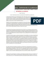 Jorge Frascara Definiendo La Audienciax